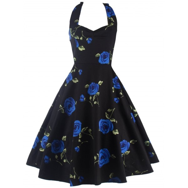 24.9$  Buy here - http://ditaw.justgood.pw/go.php?t=199677014 - Halter Floral Puffer Dress