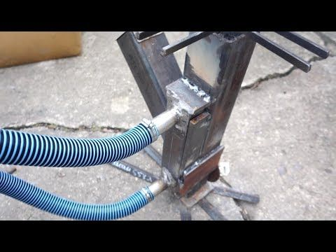 Rocket Stove Water Heater First Attempt Youtube