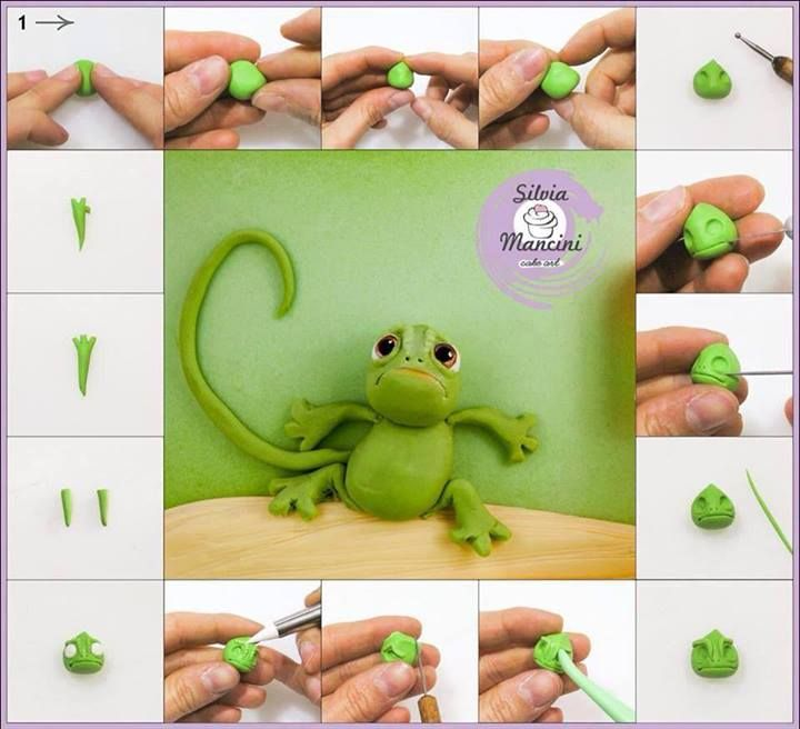 """Chameleon from Tangled movie, """"Pascal"""""""