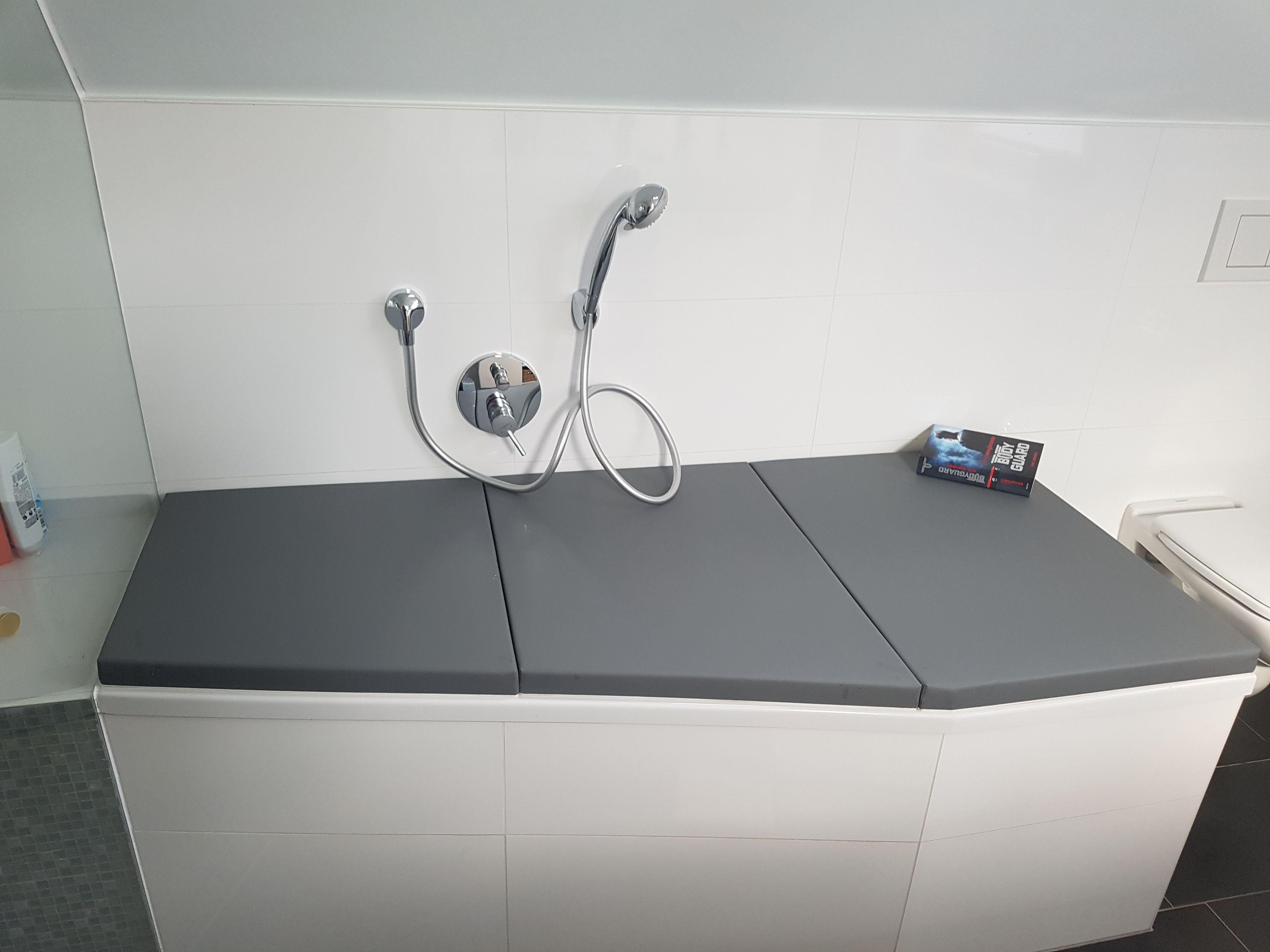 Bathcover Fur Eine Raumsparwanne Handemade Badewannenabdeckung Badewannenabdeckung Raumsparwanne Wanne