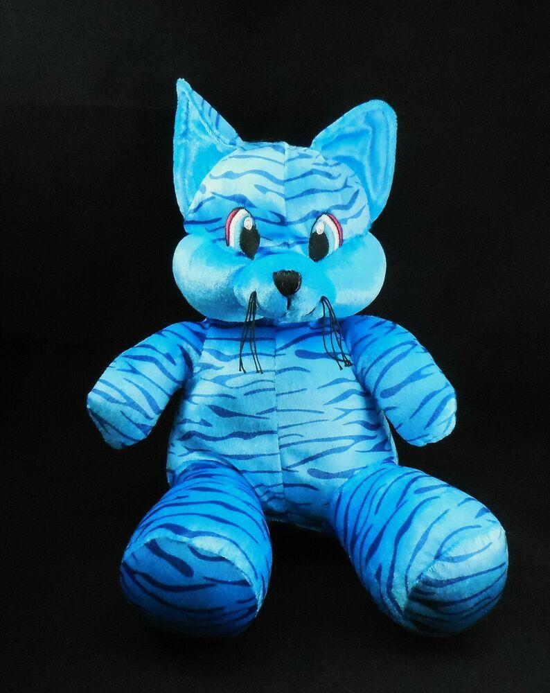 Sugar Loaf plush Blue striped Tiger Cat, 2008 Coinstar