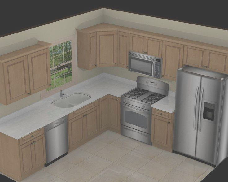 11 Wondeful 10 X 10 Kitchen Layout Ideas Images