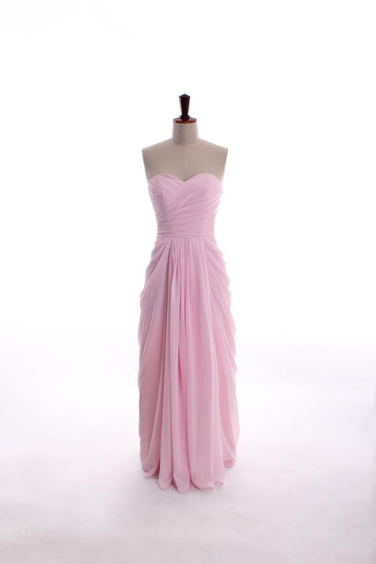 sweetheart neckline chiffon dress (in floor-length)   Dreams of Mine ...