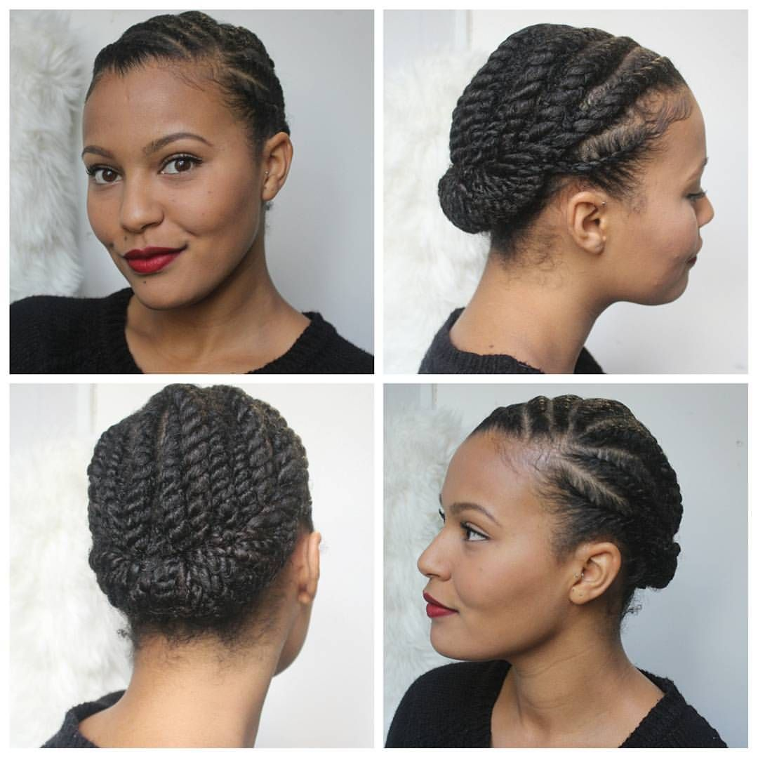 Natural Hair Style Braids For Short Hair Natural Hair Twists Hair Styles