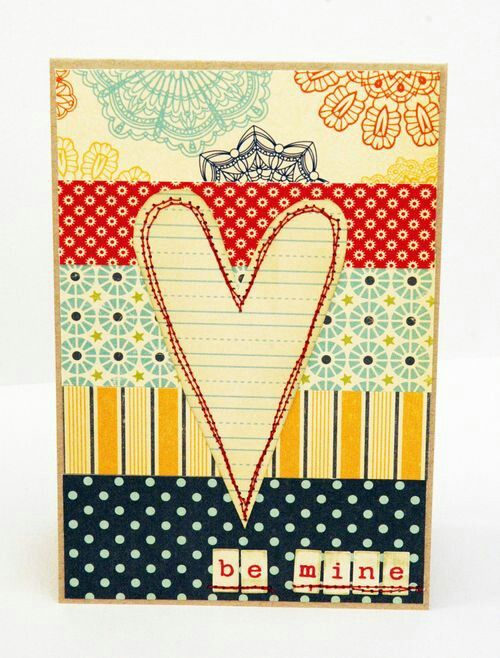 BE MINE CARD BY STACEY KINGMAN