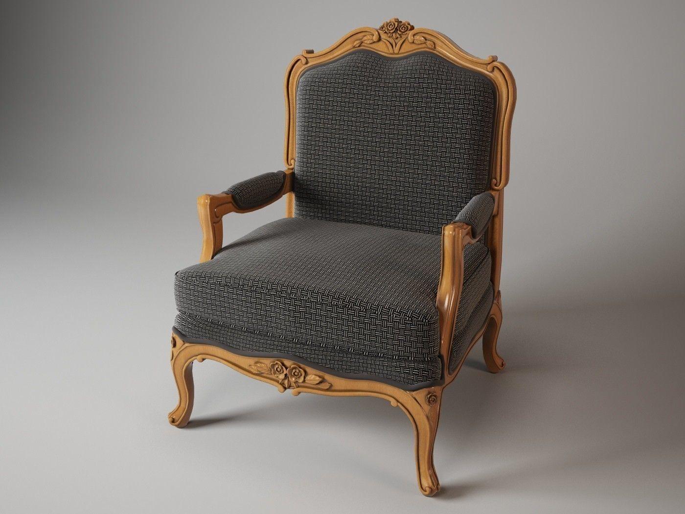 Mobileffe Raval chair 3D Model MAX OBJ | CGTrader.com