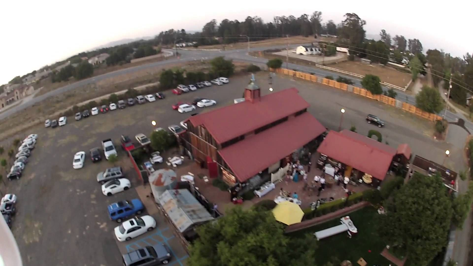Edwards Barn, Nipomo, aerial video. | Central coast ...