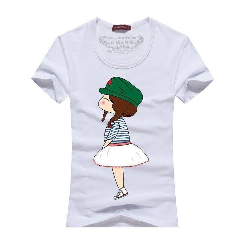 191436d1073 7 Color Women Men Tops for Summer Clothes Model Couple Lovers Couple T  Shirt 2
