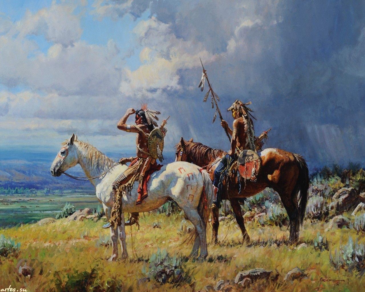 native paintings artwork Native American Art by Martin
