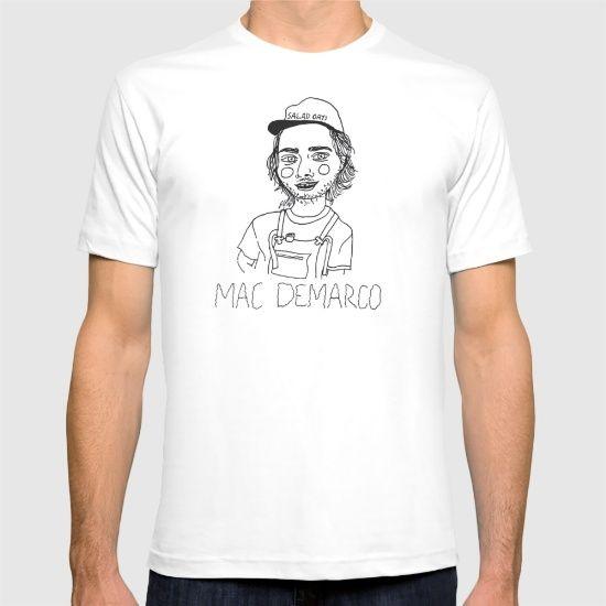 0171499d96ea77 Mac DeMarco - $24 | 2016 | Mac demarco t shirt, Mac demarco shirt ...