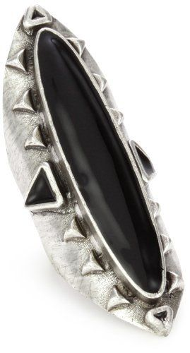 Low Luv Erin Wasson Silver Plated Open Owl Ring