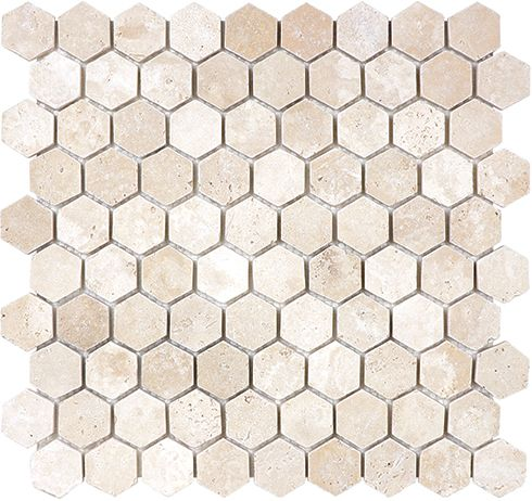 Hexagon Travertine Tile Tile Design Ideas