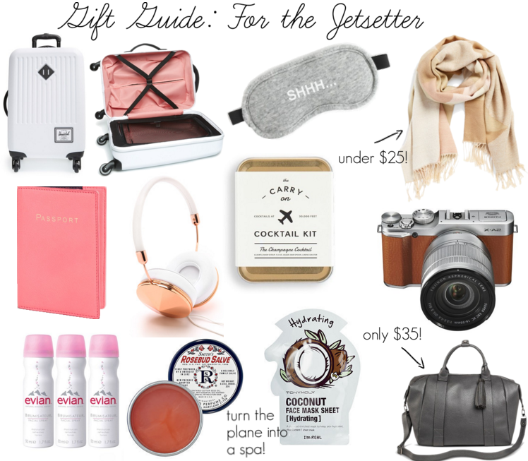 Somewhere, Lately: Gift Guide: For the Jetsetter