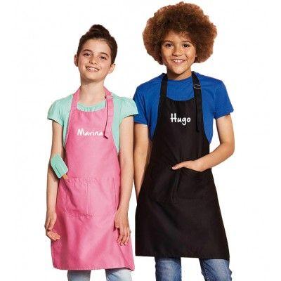Delantal Personalizado Para Niños Con 3 bolsillos