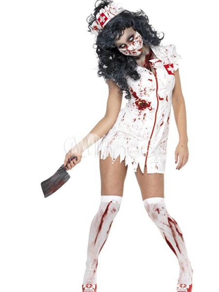 a3c8b4c846e62 Halloween Zombie Nurse Costume Cosplay Halloween in 2019 | scary ...