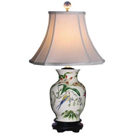 Tulip vase porcelain table lamp style g6964 porcelain living tulip vase porcelain table lamp style g6964 living room aloadofball Images