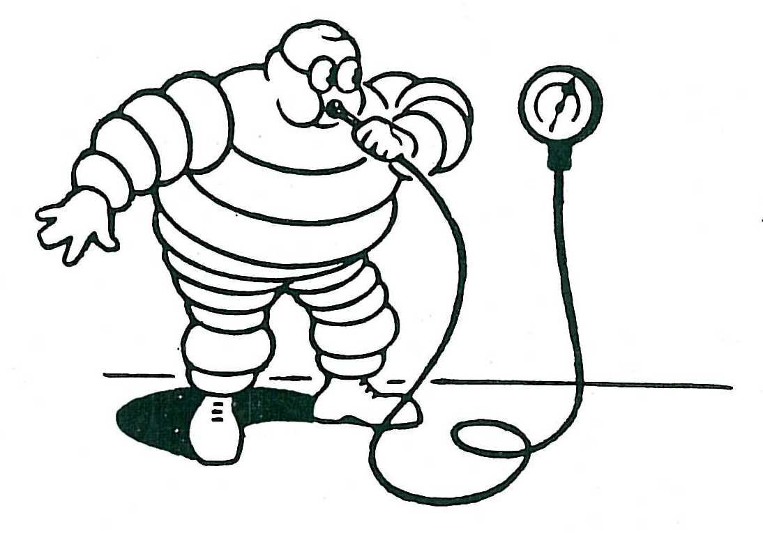 Flat Tires and Engine Misfires | How the Michelin Man gets Pumped:  From a 1955...