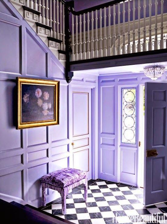 the zhush purple reign house tour designed by mary mcgee interior rh pinterest com