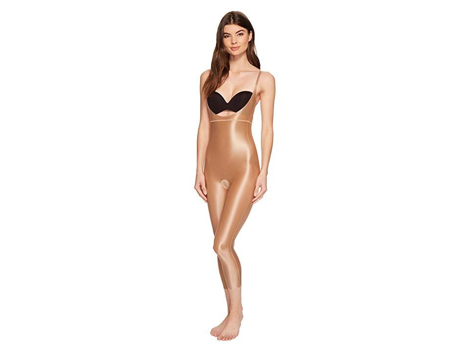 a4dd0f66eb974 Spanx Suit Your Fancy Open-Bust Catsuit (Broadway Beige) Women's Jumpsuit  &