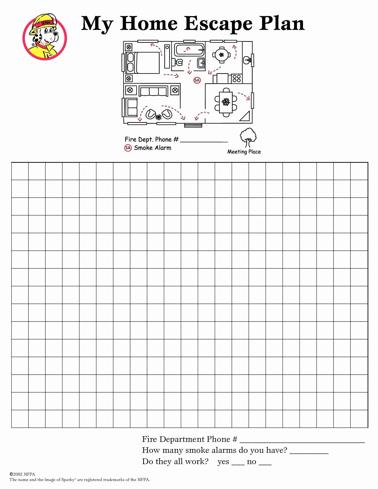 Printable Fire Escape Plan Template Best Of Printable Fire Escape Plan Template Escape Plan Fire Escape How To Plan Printable fire escape plan template