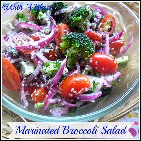 With A Blast: Marinated Broccoli Salad