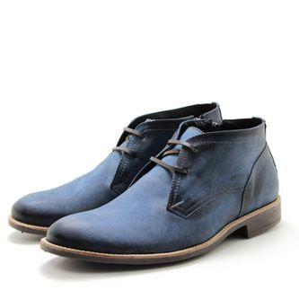 ca25102698 Sapato Perlatto 7102 Azul | Calçados | Sapato casual, Sapatos e ...