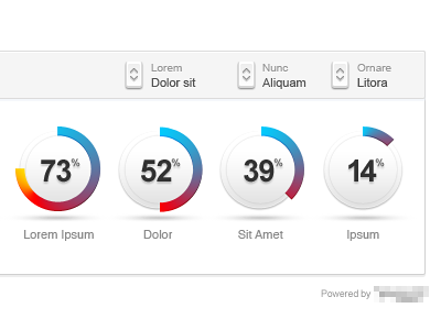 Dribbble - Dynamic pie chart by The Core Units | Dashboard ...