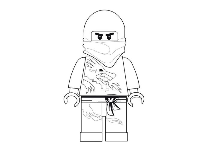Lego Kai Red Ninja Lego Coloring Pages Ninjago Coloring Pages