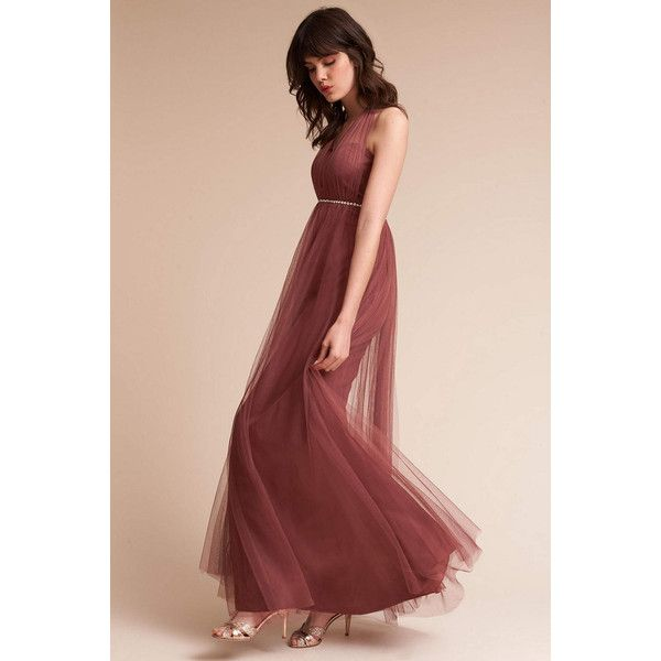 e5a8e469300 Anthropologie Annabelle Wedding Guest Dress ( 260) ❤ liked on Polyvore  featuring dresses