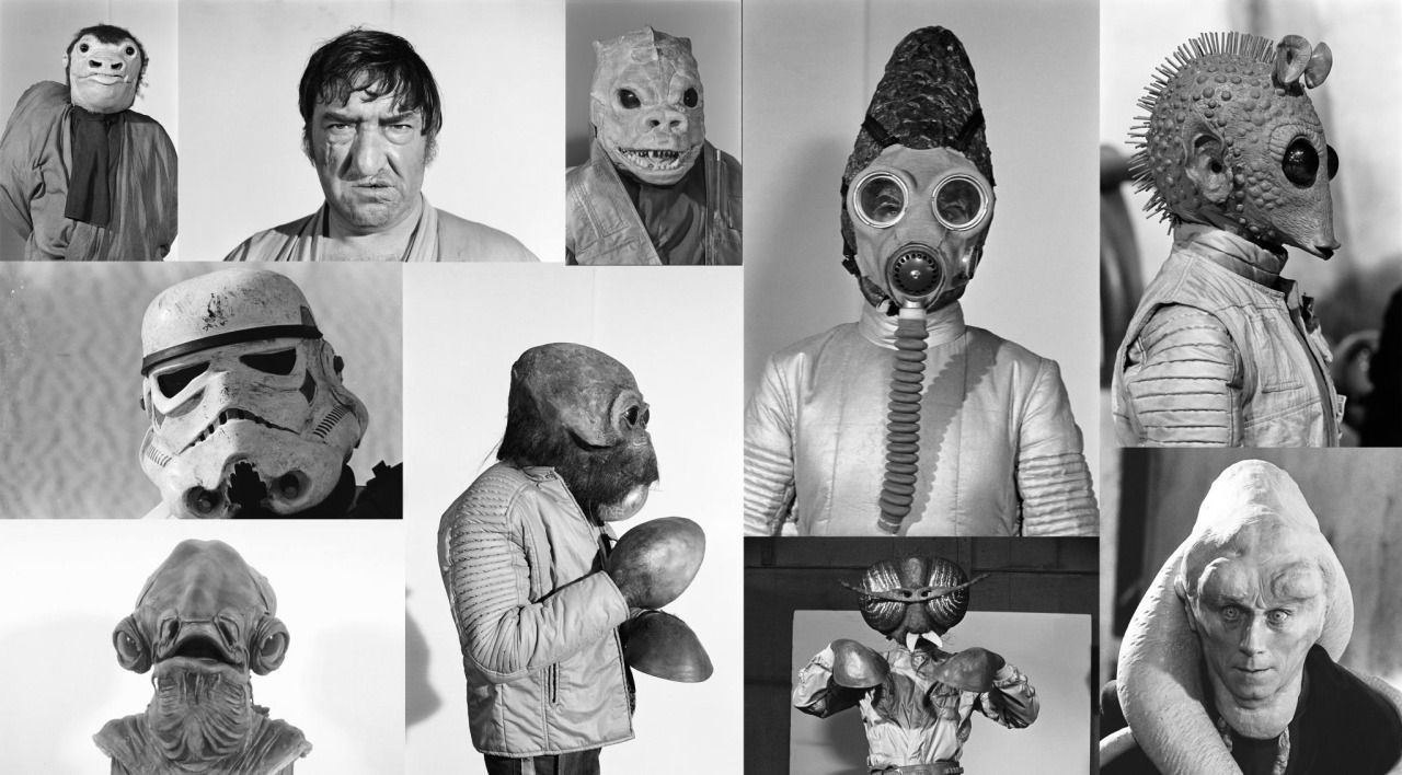 Photo of Rare and Wacky Behind-the-Scenes Photos of the 'Star Wars' Cantina