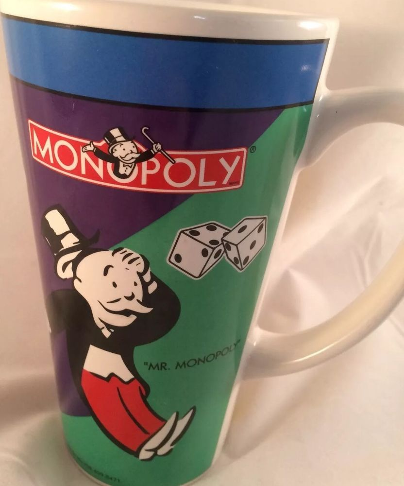 Monopoly Coffee Tea Cup Mug Mr Pennybags Design Pac Inc Ebay