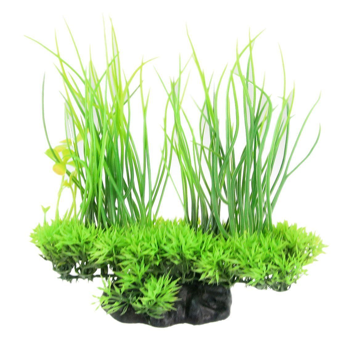 Aquarium fish tank plants - Made From Plastic Material This Height Artificial Plant Is Perfect For Your Fish Tank It Can Colorize The Fish Tank And Afford Things For Pet Fish To Play