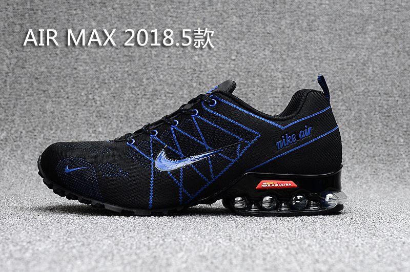 Air Max 2018 Flyknit Men Blue Black | Air max men in 2019
