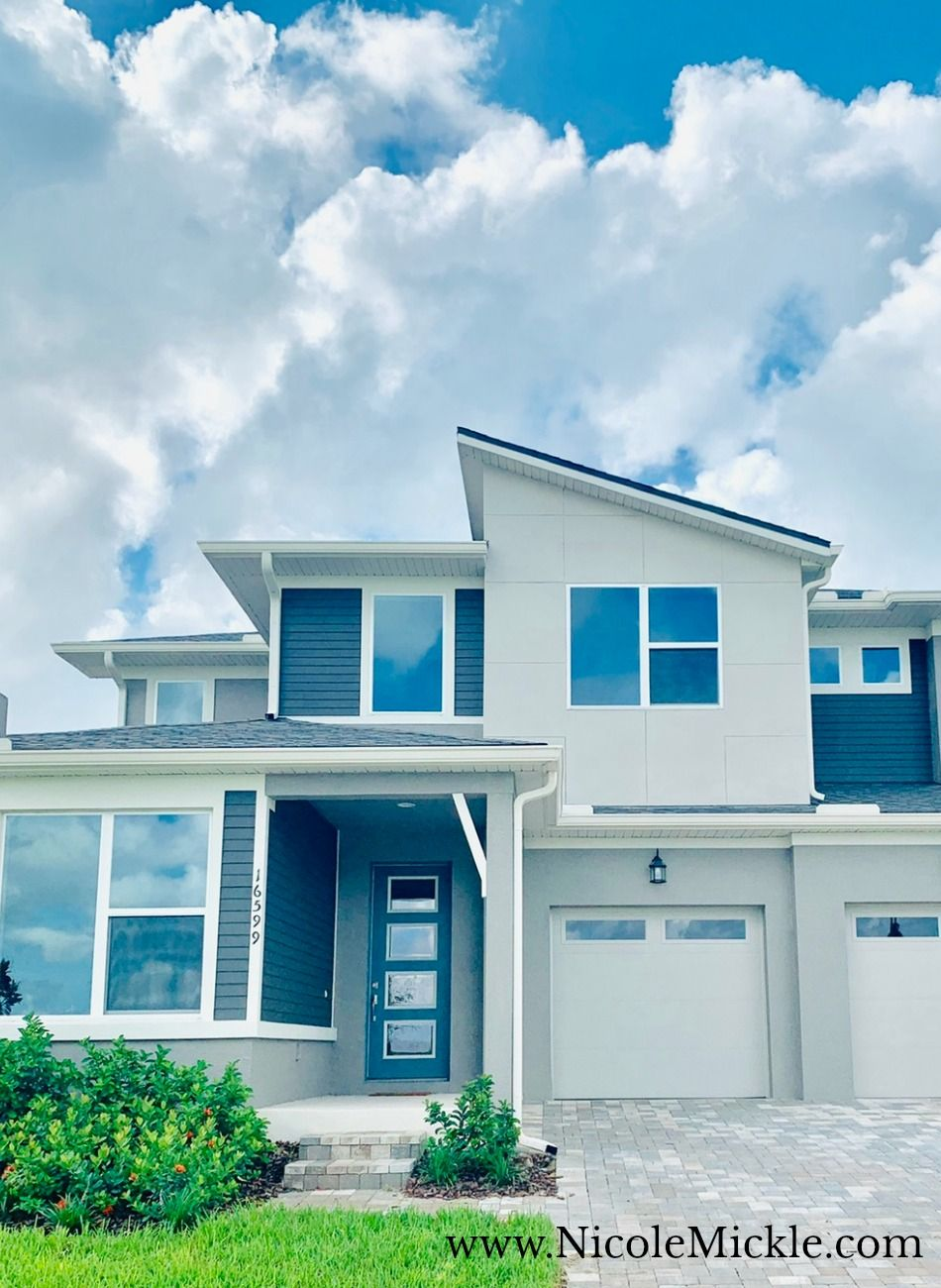How to add curb appeal to get your Modern Home ready to sell | quick and simple curb appeal ideas | Showings from Locations: Winter Park, Florida and Winter Garden, Florida #architecturaldesign #orlandorealestate #curbappeal #modernhome