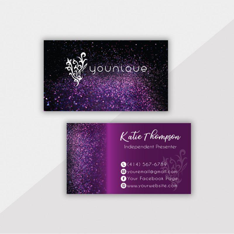 Personalized Younique Business Card Younique Business Cards Yq04 Younique Business Cards Younique Business Younique