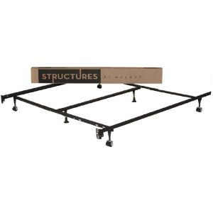 Adjustable Metal Bed Frame Great For Converting Our 2 Twin Beds