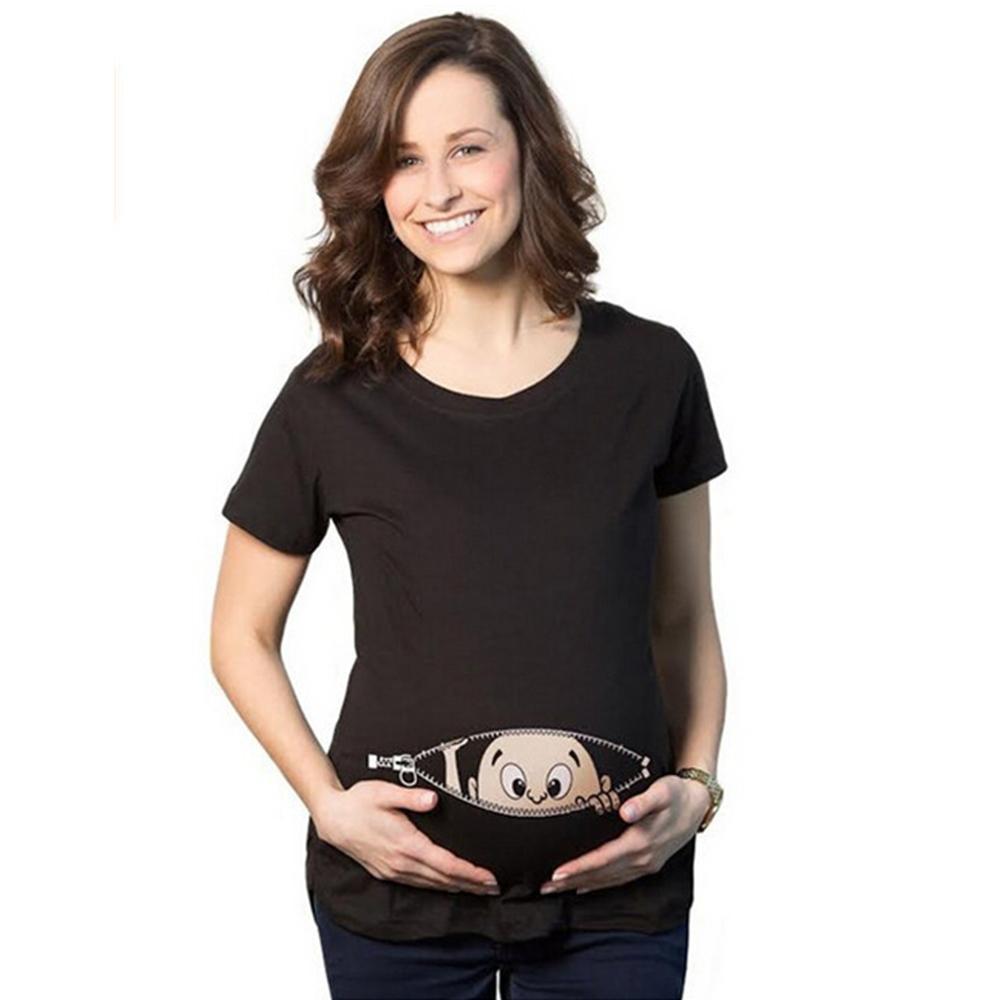 19d98181f Peek-a-Boo Baby Maternity T-shirts (Girl & Boy available) | ekooo ...