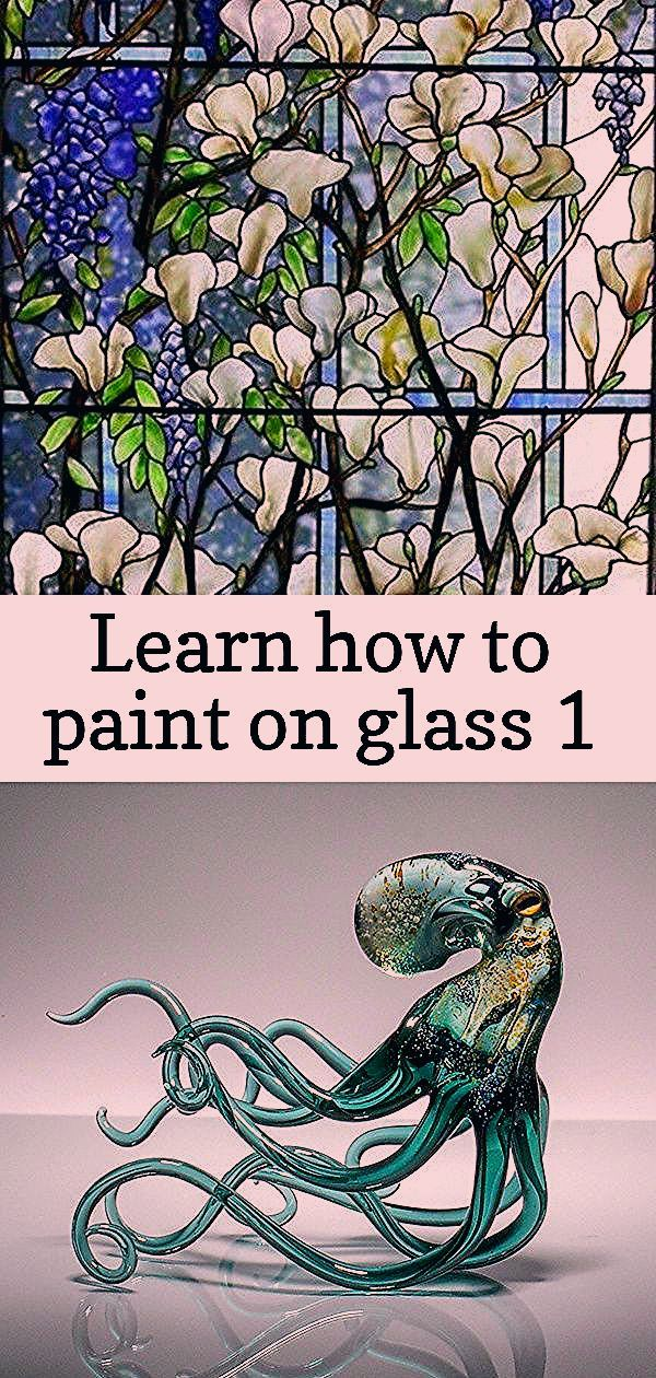 Photo of Learn how to paint on glass 1
