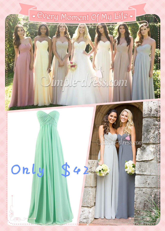 #bridesmaid dresses #cheap bridesmaid dresses #long strapless bridesmaid dresses #wedding dress