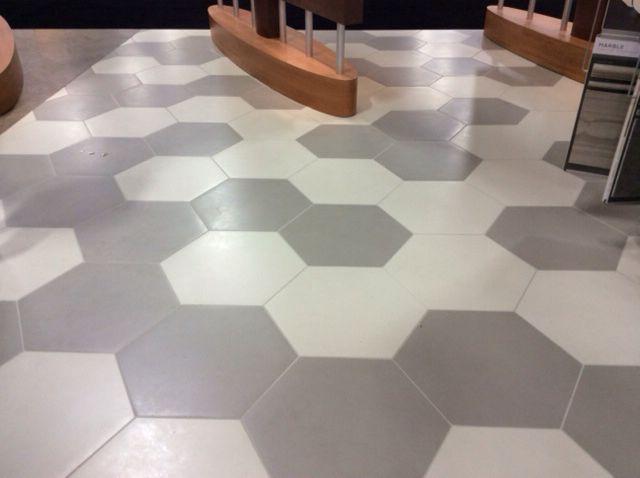 hexagon tile floor tile floor