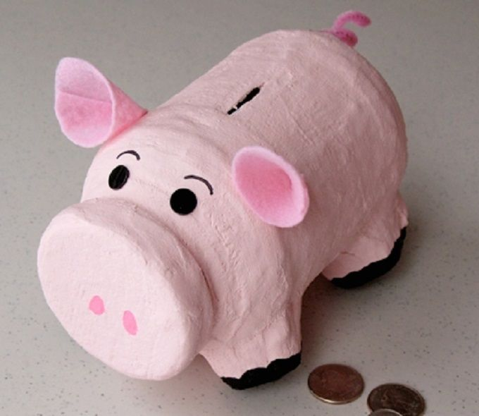 40 Cool Diy Piggy Banks For Kids Adults Crafts For Ss