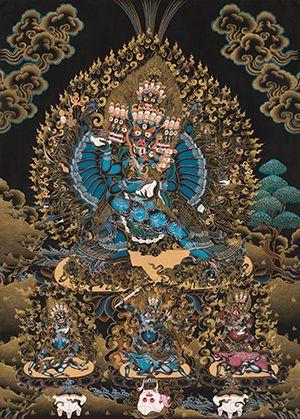 Ваджрабхайравы яб-ням | Tibetan Buddhist Symbols in 2019