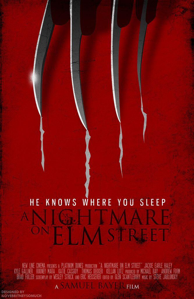 A Nightmare On Elm Street 2010 Minimal Movie Poster By Romel