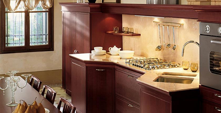 Cozy Classic Kitchen Designs – Florence by Snaidero   DigsDigs