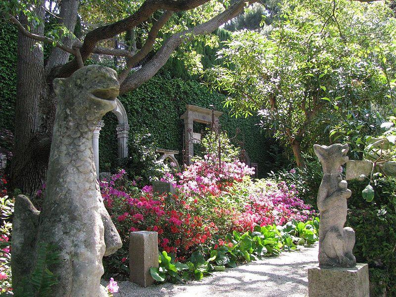 Villa Ephrussi de Rothschild - The Stone garden - Saint-Jean-Cap-Ferrat, France