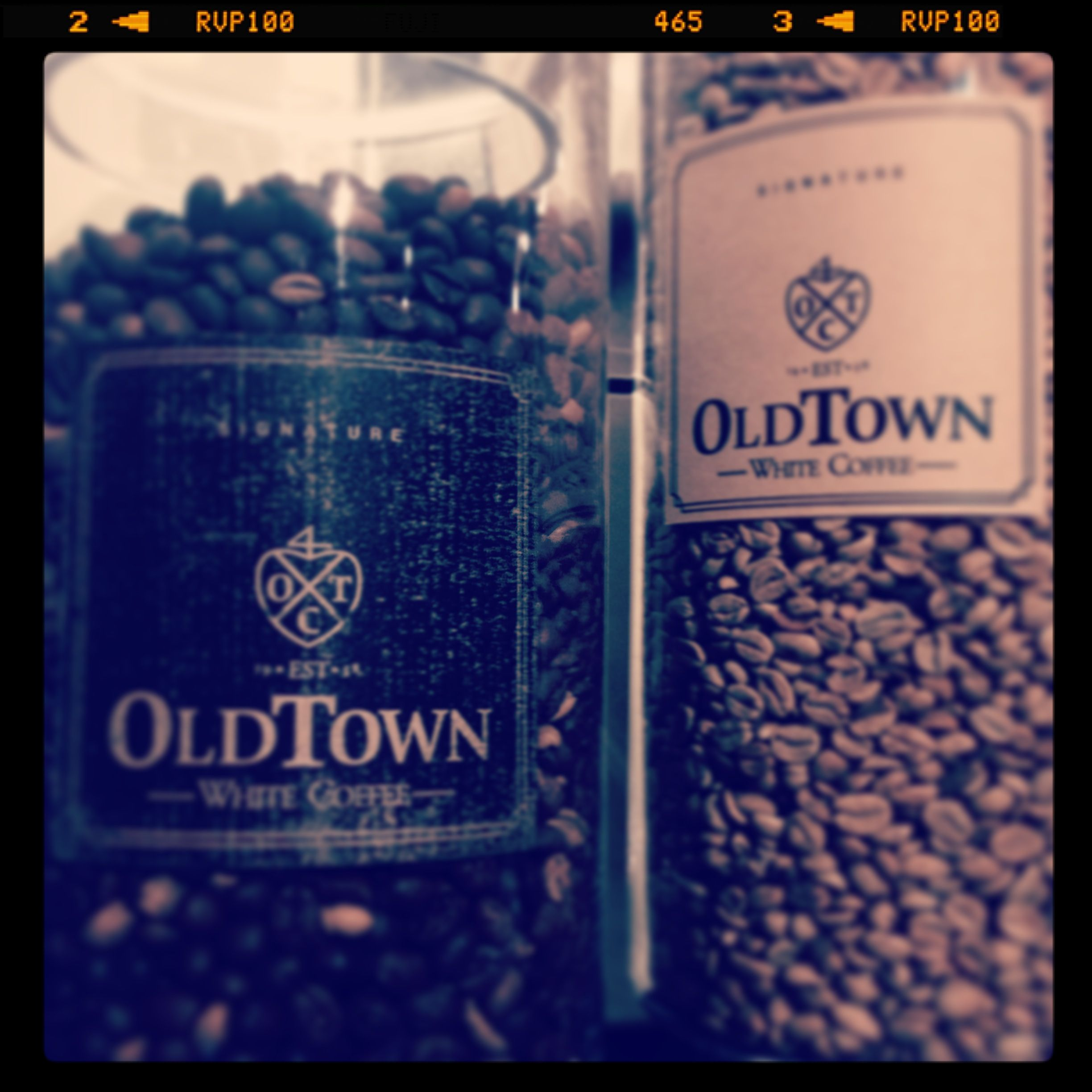 Ah Real Oldtown White Coffee Beans You Ll Never Get Any Powders Here At Signature M Boutique Ipoh Dessert Drinks White Coffee Oldtown