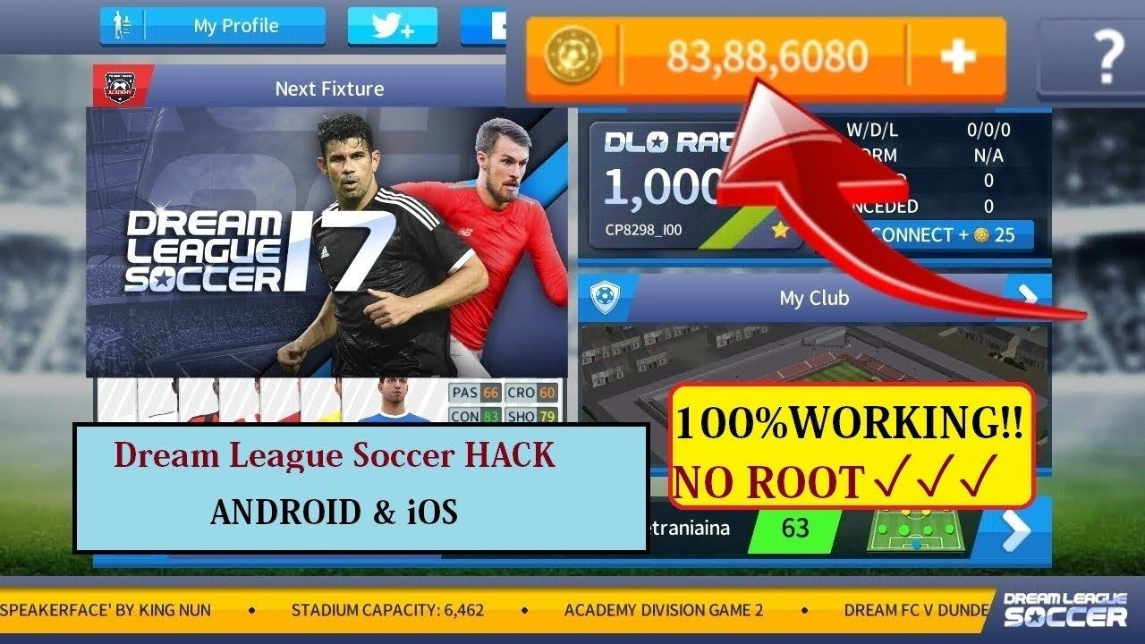 Dream League 2017 Download Apk In 2020 Tool Hacks Play Hacks League