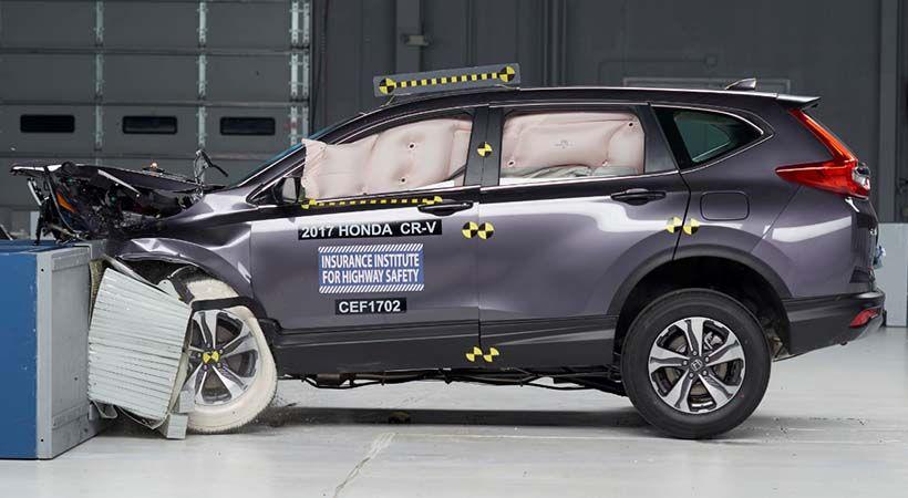 Honda CRV 2017 Top Safety Pick del IIHS, seguridad total