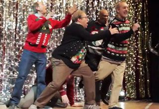 Dads Pull Off An Awesome Christmas Dubstep Dance