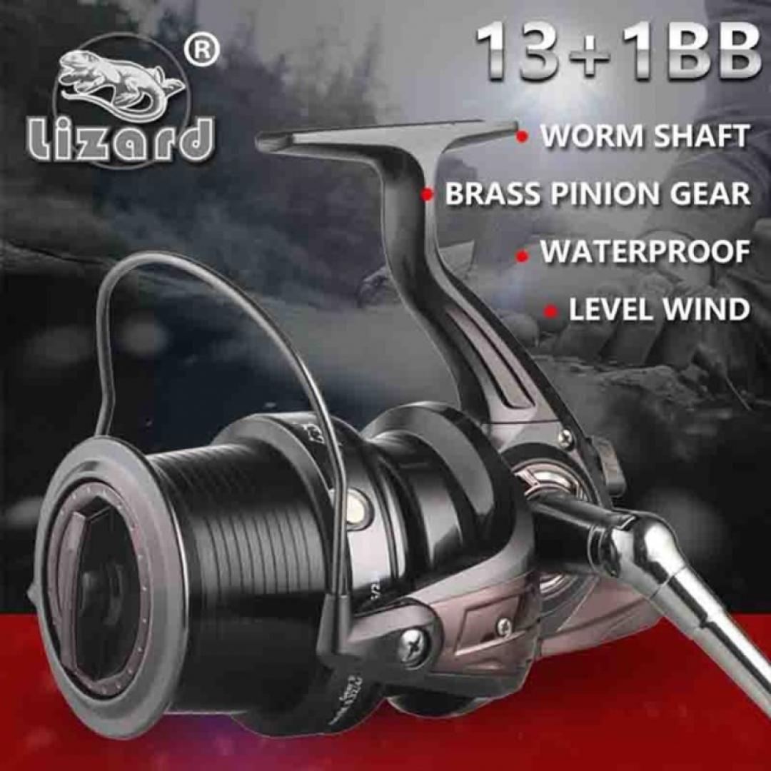 Full Metal DIY Fishing Reel Handle Power Knob w// 2 Ball Bearings 45mm Gray